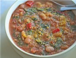 Tuscan bean soupw greens